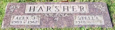 HARSHER, STELLA - Stark County, Ohio   STELLA HARSHER - Ohio Gravestone Photos