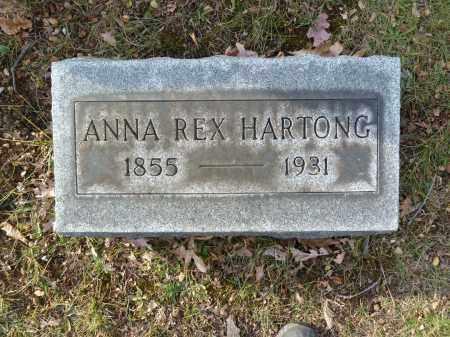 HARTONG, ANNA - Stark County, Ohio   ANNA HARTONG - Ohio Gravestone Photos