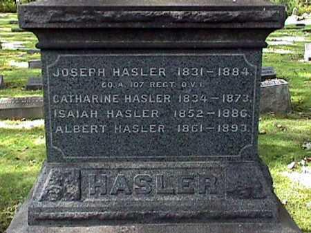 HASLER, ISAIAH - Stark County, Ohio | ISAIAH HASLER - Ohio Gravestone Photos