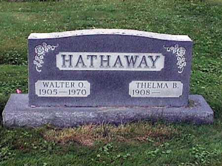 HATHAWAY, THELMA BUELAH - Stark County, Ohio | THELMA BUELAH HATHAWAY - Ohio Gravestone Photos