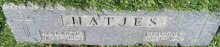 HATJES, HARRY G. - Stark County, Ohio | HARRY G. HATJES - Ohio Gravestone Photos
