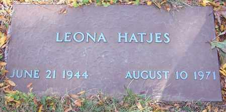 HATJES, LEONA - Stark County, Ohio   LEONA HATJES - Ohio Gravestone Photos