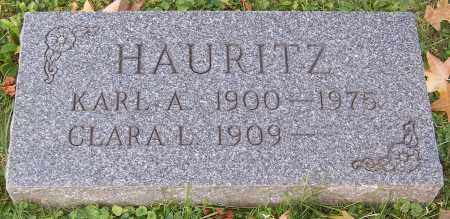 HAURITZ, KARL A. - Stark County, Ohio | KARL A. HAURITZ - Ohio Gravestone Photos