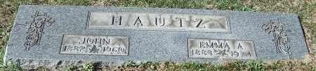 HAUTZ, JOHN - Stark County, Ohio | JOHN HAUTZ - Ohio Gravestone Photos