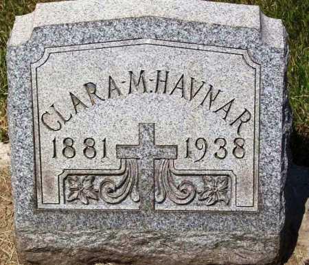 HAVNAR, CLARA M. - Stark County, Ohio   CLARA M. HAVNAR - Ohio Gravestone Photos