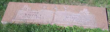 HAY, MARIE C. - Stark County, Ohio | MARIE C. HAY - Ohio Gravestone Photos