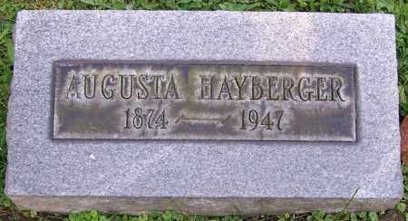 HAYBERGER, AUGUSTA - Stark County, Ohio   AUGUSTA HAYBERGER - Ohio Gravestone Photos