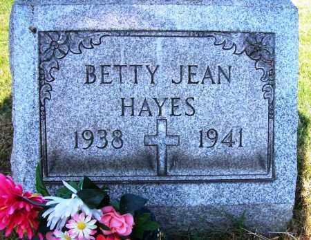 HAYES, BETTY JEAN - Stark County, Ohio | BETTY JEAN HAYES - Ohio Gravestone Photos