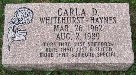 WHITEHURST HAYNES, CARLA D. - Stark County, Ohio   CARLA D. WHITEHURST HAYNES - Ohio Gravestone Photos