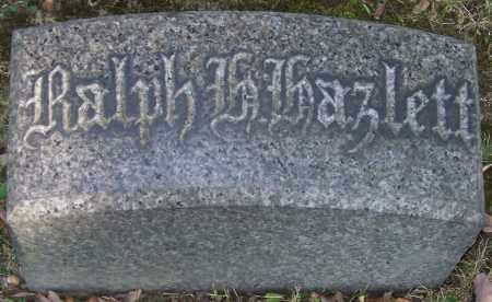 HAZLETT, RALPH H. - Stark County, Ohio | RALPH H. HAZLETT - Ohio Gravestone Photos