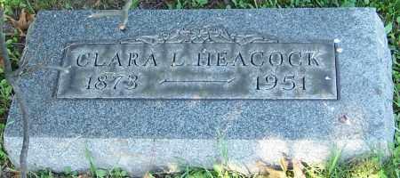 HEACOCK, CLARA L. - Stark County, Ohio   CLARA L. HEACOCK - Ohio Gravestone Photos