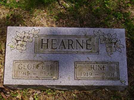 HEARN, JUNE - Stark County, Ohio | JUNE HEARN - Ohio Gravestone Photos