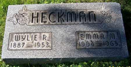 HECKMAN, EMMA M. - Stark County, Ohio   EMMA M. HECKMAN - Ohio Gravestone Photos
