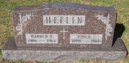 HEFLIN, VIOLA J. - Stark County, Ohio | VIOLA J. HEFLIN - Ohio Gravestone Photos
