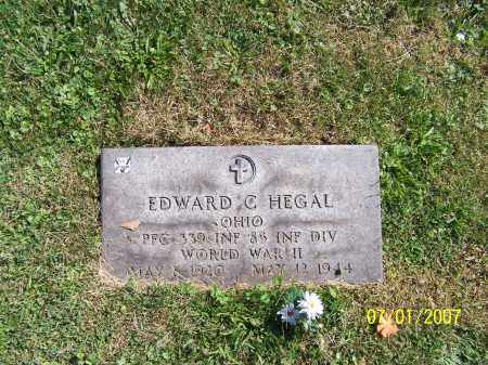 HEGAL, EDWARD C. - Stark County, Ohio | EDWARD C. HEGAL - Ohio Gravestone Photos