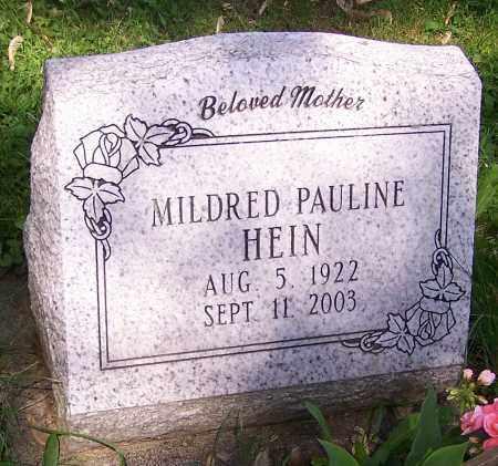HEIN, MILDRED PAULINE - Stark County, Ohio   MILDRED PAULINE HEIN - Ohio Gravestone Photos