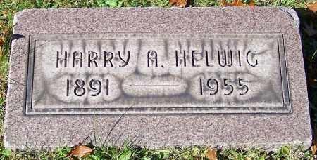 HELWIG, HARRY A. - Stark County, Ohio   HARRY A. HELWIG - Ohio Gravestone Photos