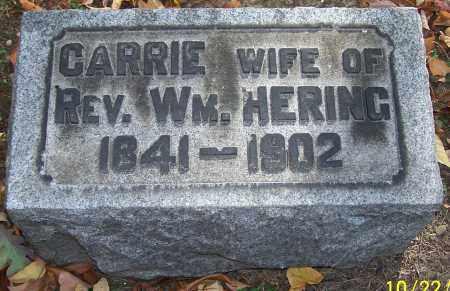 HERING, CARRIE - Stark County, Ohio | CARRIE HERING - Ohio Gravestone Photos