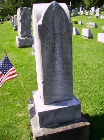 SCHOLL HERTEL, CHRISTENA - Stark County, Ohio | CHRISTENA SCHOLL HERTEL - Ohio Gravestone Photos
