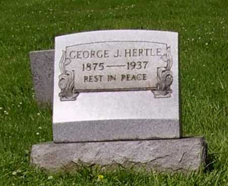HERTLE, GEORGE J. - Stark County, Ohio | GEORGE J. HERTLE - Ohio Gravestone Photos