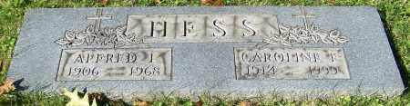 HESS, ALFRED L. - Stark County, Ohio | ALFRED L. HESS - Ohio Gravestone Photos