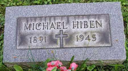 HIBEN, MICHAEL - Stark County, Ohio | MICHAEL HIBEN - Ohio Gravestone Photos