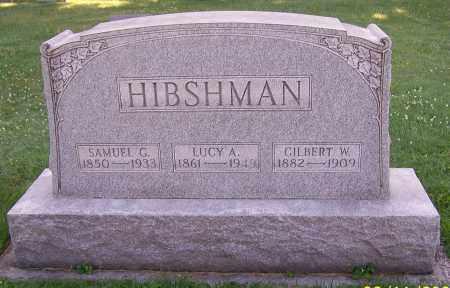WINGER HIBSHMAN, LUCY A. - Stark County, Ohio | LUCY A. WINGER HIBSHMAN - Ohio Gravestone Photos