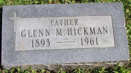 HICKMAN, GLENN M. - Stark County, Ohio | GLENN M. HICKMAN - Ohio Gravestone Photos
