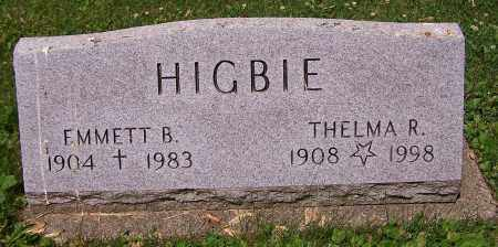 HIGBIE, EMMETT B. - Stark County, Ohio | EMMETT B. HIGBIE - Ohio Gravestone Photos
