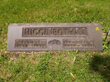 HIGGINBOTHAM, CHARLES T. - MONUMENT - Stark County, Ohio | CHARLES T. - MONUMENT HIGGINBOTHAM - Ohio Gravestone Photos