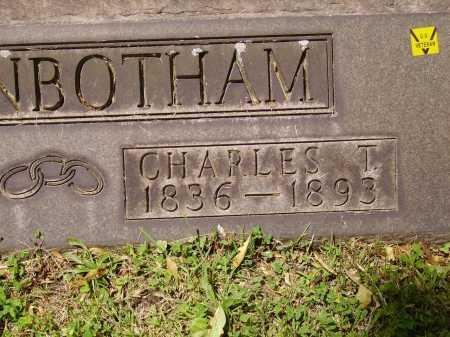 HIGGINBOTHAM, CHARLES T. - Stark County, Ohio | CHARLES T. HIGGINBOTHAM - Ohio Gravestone Photos