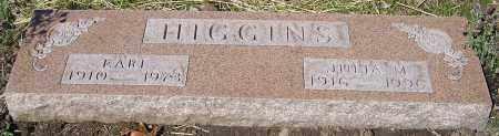 HIGGINS, JULIA M. - Stark County, Ohio | JULIA M. HIGGINS - Ohio Gravestone Photos