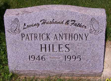 HILES, PATRICK ANTHONY - Stark County, Ohio | PATRICK ANTHONY HILES - Ohio Gravestone Photos