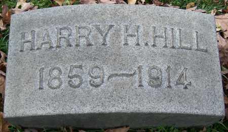 HILL, HARRY H. - Stark County, Ohio   HARRY H. HILL - Ohio Gravestone Photos