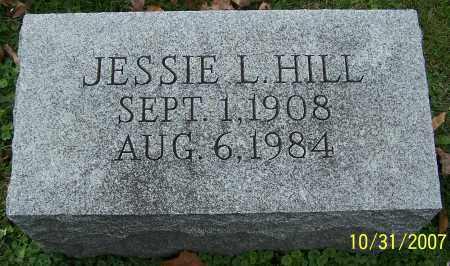 HILL, JESSIE L. - Stark County, Ohio | JESSIE L. HILL - Ohio Gravestone Photos