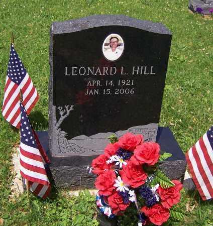 HILL, LEONARD L. - Stark County, Ohio | LEONARD L. HILL - Ohio Gravestone Photos