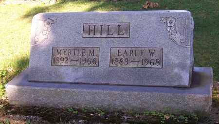 HILL, EARLE W. - Stark County, Ohio | EARLE W. HILL - Ohio Gravestone Photos