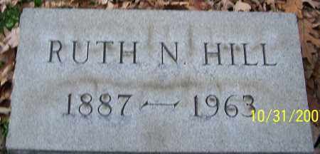 HILL, RUTH N. - Stark County, Ohio | RUTH N. HILL - Ohio Gravestone Photos