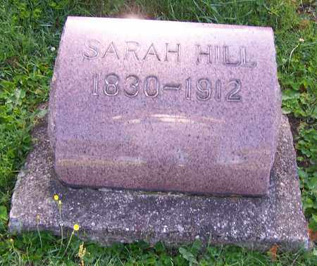 HILL, SARAH - Stark County, Ohio | SARAH HILL - Ohio Gravestone Photos