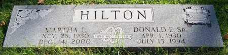 HILTON, MARTHA L. - Stark County, Ohio | MARTHA L. HILTON - Ohio Gravestone Photos