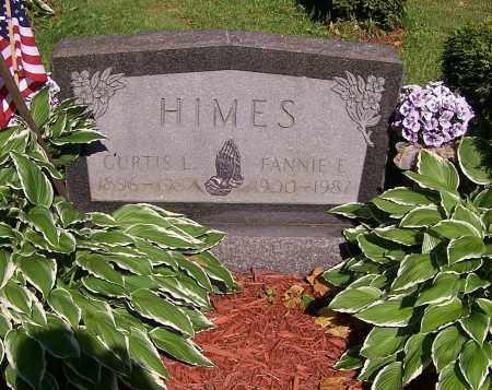 HIMES, FANNIE E. - Stark County, Ohio | FANNIE E. HIMES - Ohio Gravestone Photos