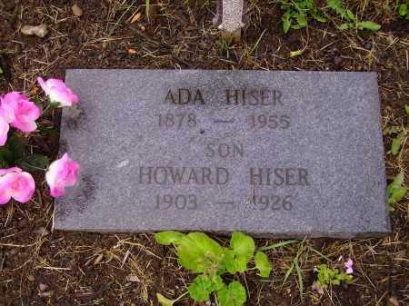 HISER, ADA - Stark County, Ohio   ADA HISER - Ohio Gravestone Photos