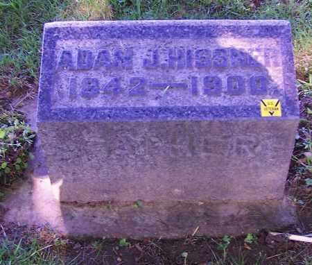 HISSNER, ADAM J. - Stark County, Ohio | ADAM J. HISSNER - Ohio Gravestone Photos