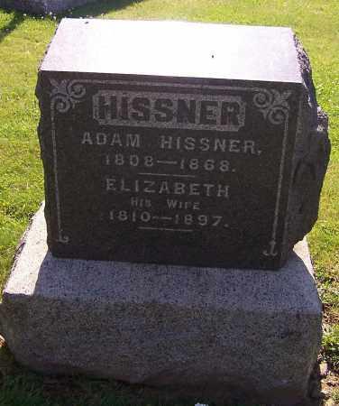 HISSNER, ADAM - Stark County, Ohio | ADAM HISSNER - Ohio Gravestone Photos