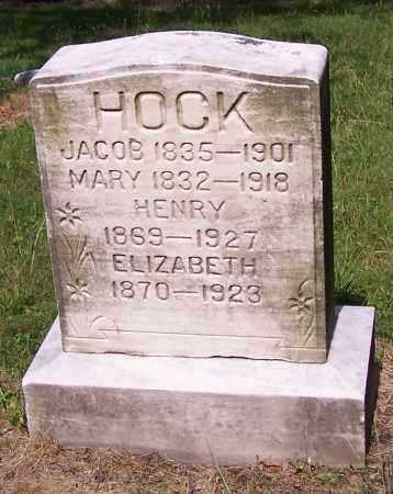 HOCK, JACOB - Stark County, Ohio | JACOB HOCK - Ohio Gravestone Photos