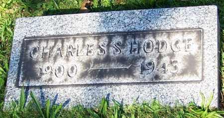HODGE, CHARLES S. - Stark County, Ohio | CHARLES S. HODGE - Ohio Gravestone Photos