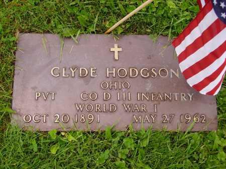 HODGSON, CLYDE - Stark County, Ohio | CLYDE HODGSON - Ohio Gravestone Photos