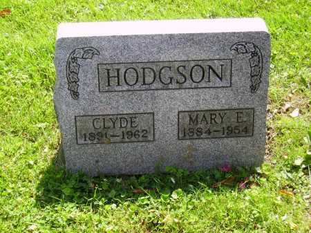 HODGSON, MARY E. - Stark County, Ohio | MARY E. HODGSON - Ohio Gravestone Photos