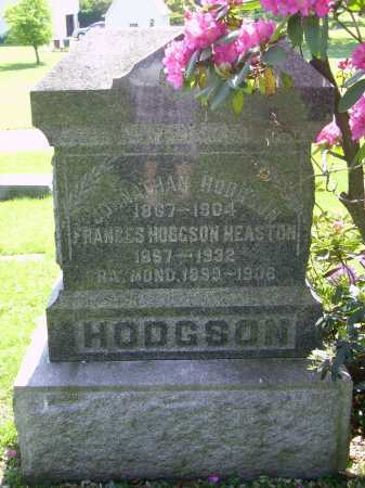 HODGSON-HEASTON, FRANCES - MONUMENT - Stark County, Ohio | FRANCES - MONUMENT HODGSON-HEASTON - Ohio Gravestone Photos