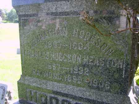 HODGSON-HESTON, FRANCES - CLOSE VIEW - Stark County, Ohio | FRANCES - CLOSE VIEW HODGSON-HESTON - Ohio Gravestone Photos